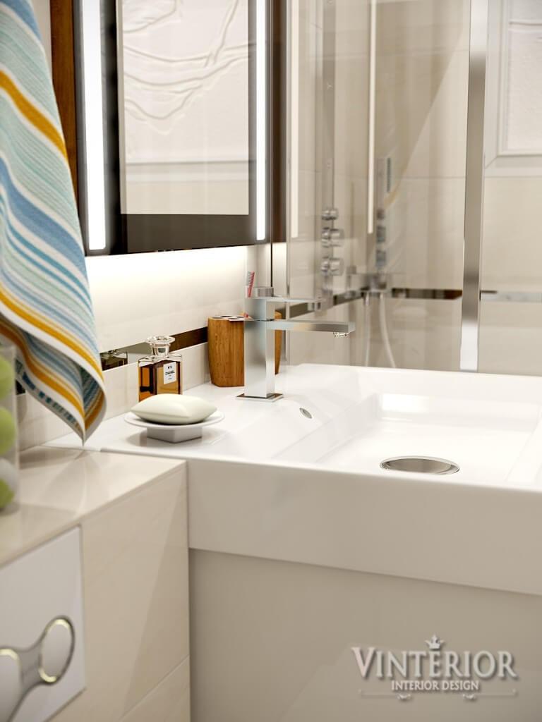 Квартира 1-комнатная, Ванная комната, г. Бровары