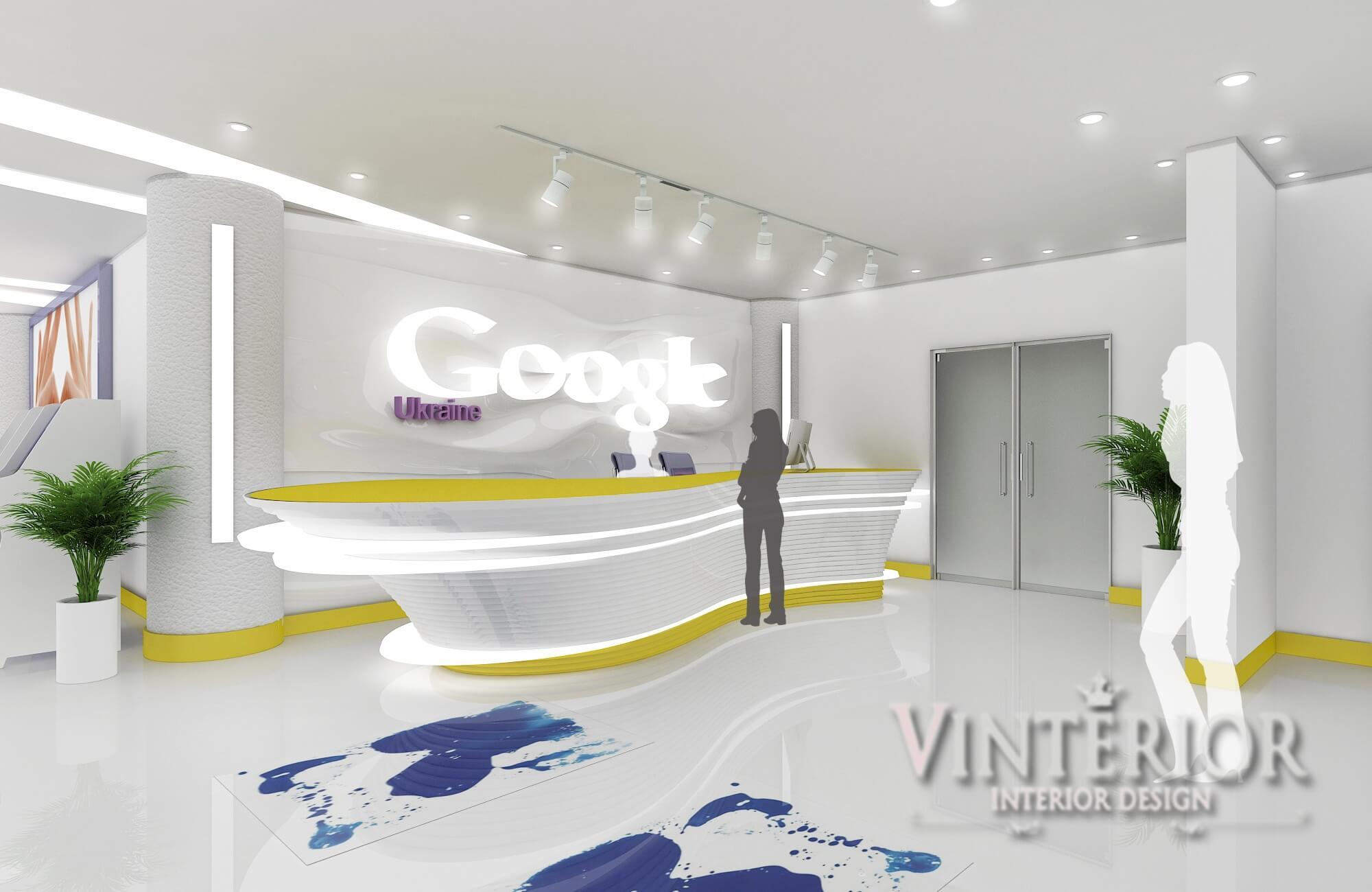 Офис IT-компании «Google», г. Киев