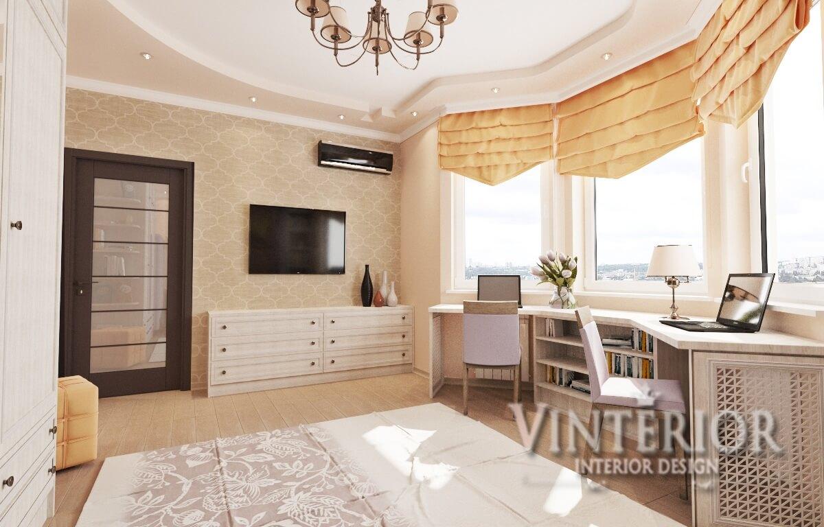 Квартира 2-х комнатная, Детская комната, просп. Отрадный, г. Киев