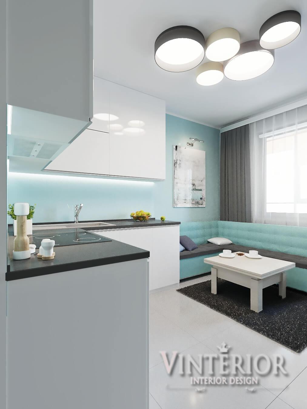 Квартира 1-комнатная, Соломенский р-н, ЖК «Островского 40», г. Киев