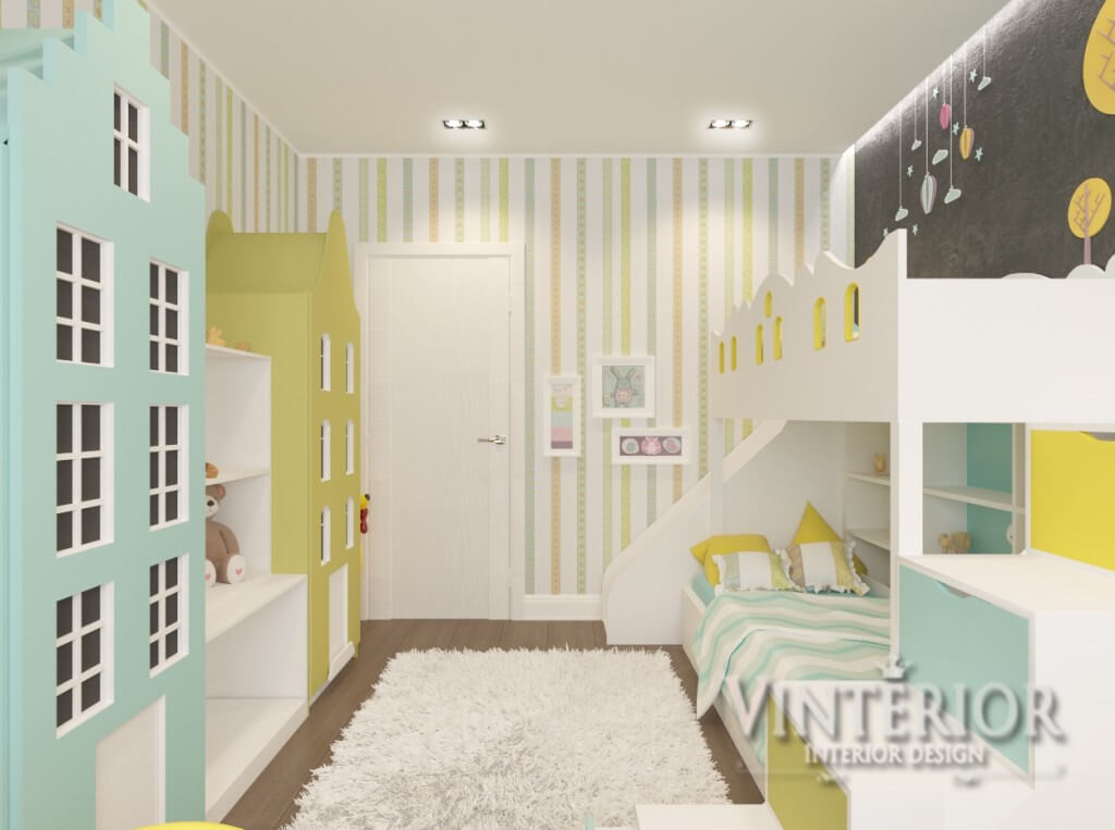 Квартира 3-х комнатная, ЖК «Суворов», Детская, г. Ирпень